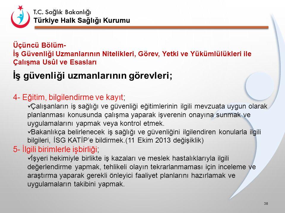 T.C. Sa ğ lık Bakanlı ğ ı Türkiye Halk Sağlığı Kurumu T.C.