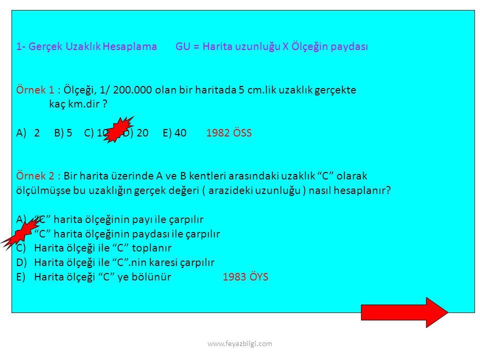 www.feyazbilgi.com UZUNLUK HESAPLAMALARI km hm dam metre dm cm mm sıfır ekle sıfır sil Uzunluk ölçüleri 10'ar 10'ar yani her katta 1 sıfır olarak değişir.