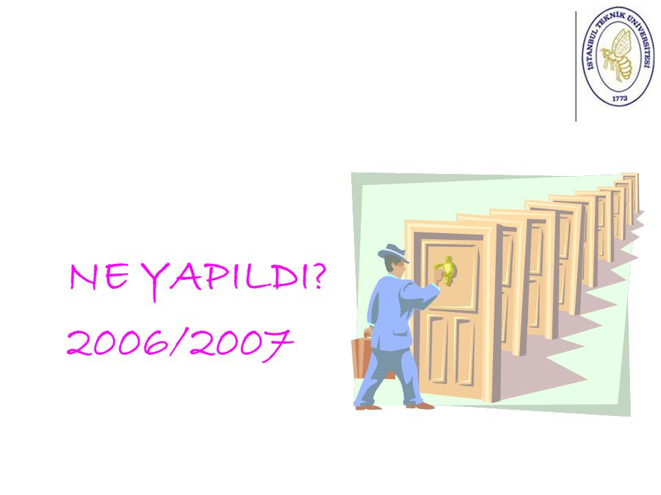 NE YAPILDI 2006/2007