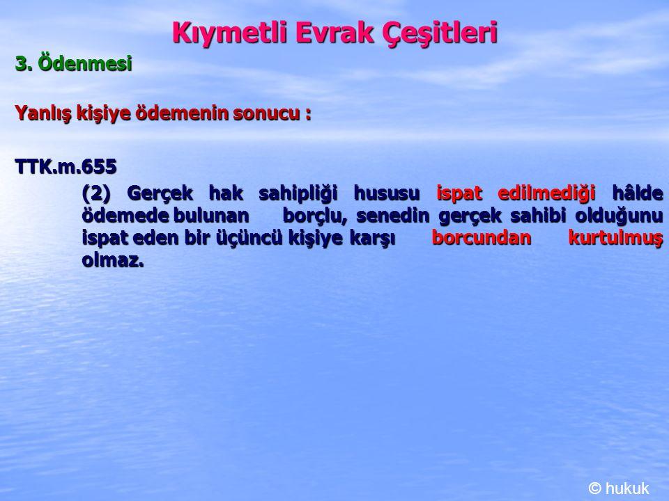 Kambiyo Senetleri 1.Emre Yazılı Havale b.