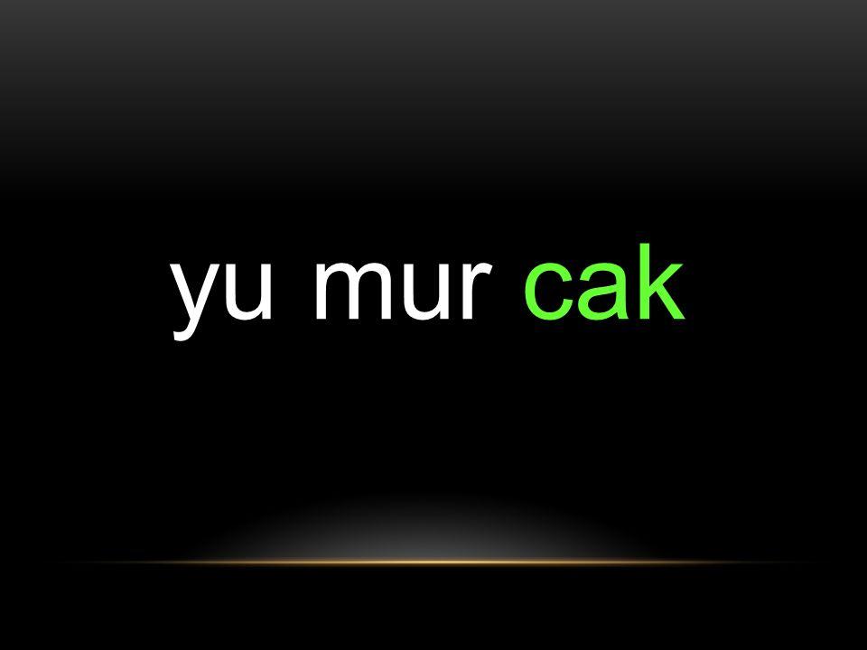 yu mur cak