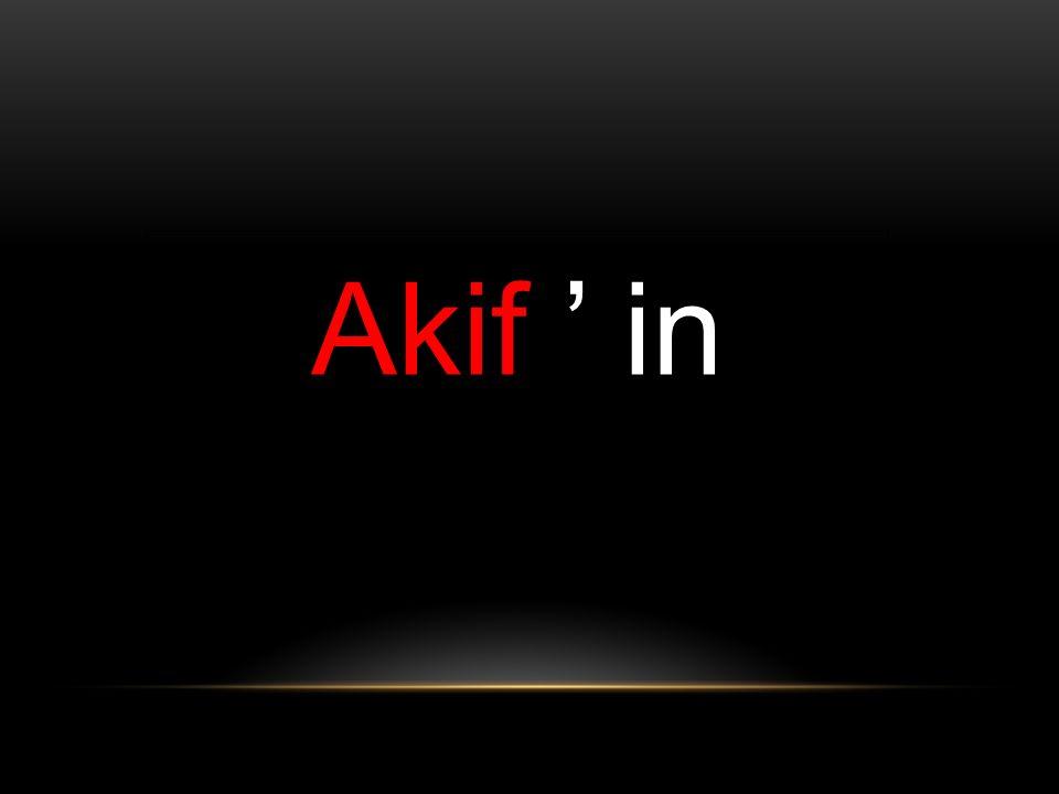 Akif ' in