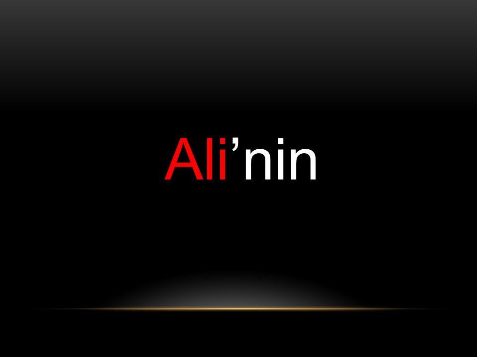 Ali'nin