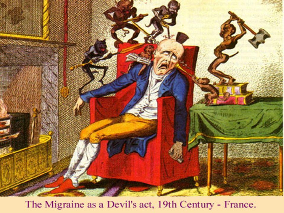 Migren Atağı dört evreye ayrılabilir Prodrom, (±Aura), Ağrı, Postdrom 7