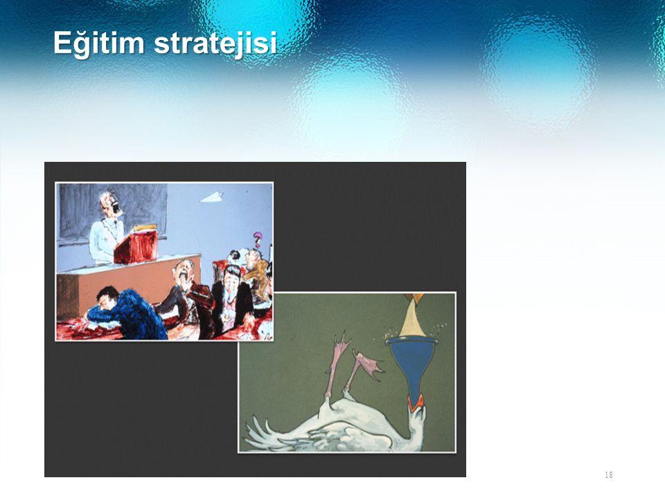 Eğitim stratejisi 18