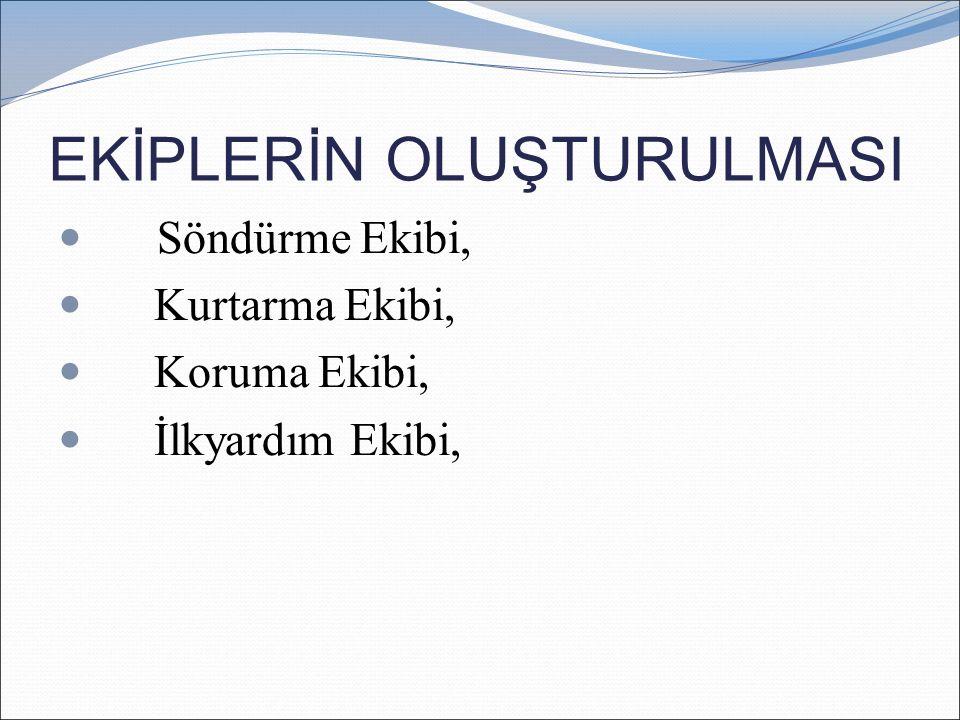 TAHLİYE VE KURTARMA ACİL BİR DURUM KARŞISINDA YAPILMASI GEREKLİ OLAN İLK ŞEY SOĞUK KANLI OLMAKTIR!..