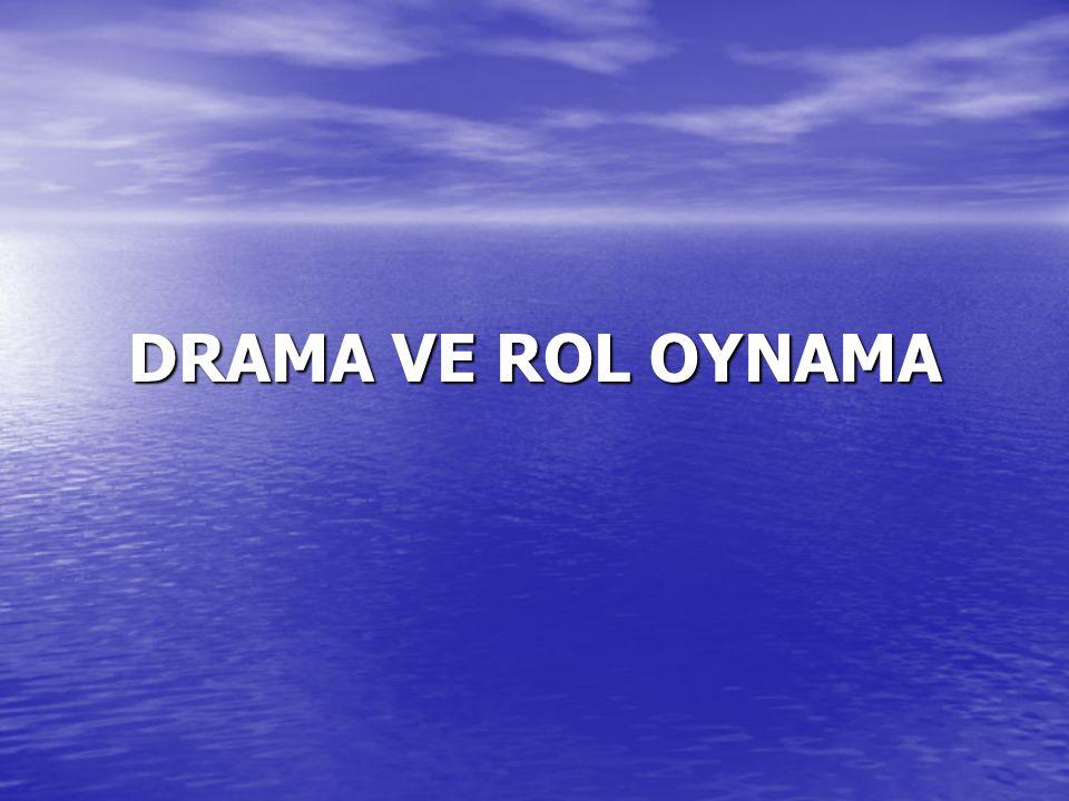Yaratıcı Dramanın Özellikleri Yaratıcı drama çalışmalarında katılımcının gönüllü ve aktif katılımı söz konusudur.