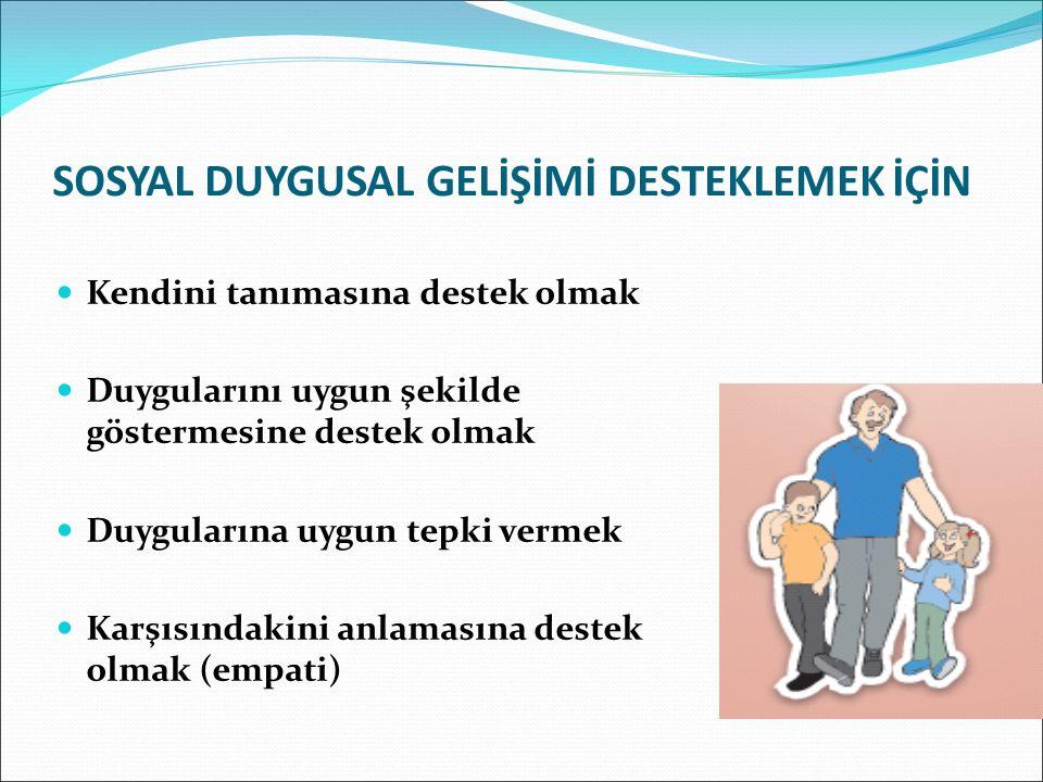 SOSYAL, DUYGUSAL GELİŞİM VE BENLİK GELİŞİMİ 6-11 YAŞTA SOSYAL DUYGUSALGELİŞİMDE GÖRÜLEN DEĞİŞİKLİKLER 1. Sosyal çevre ve kurallar 2. Cinsiyet rolleri