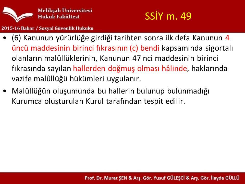 5510 sayılı Kanun'un 29.