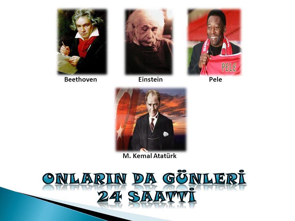 Beethoven M. Kemal Atatürk EinsteinPele
