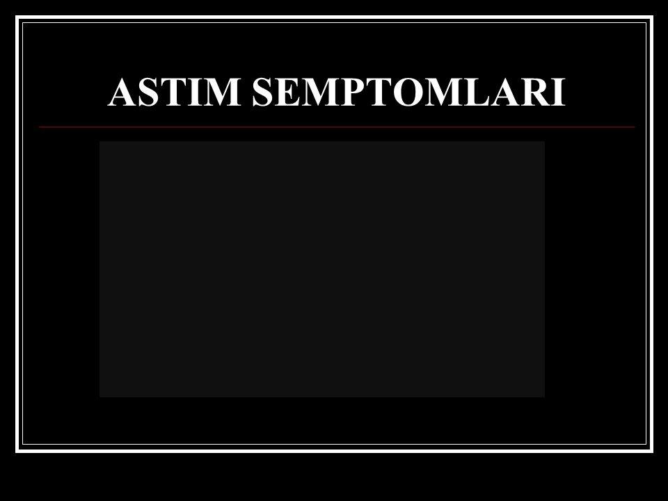 ASTIM SEMPTOMLARI