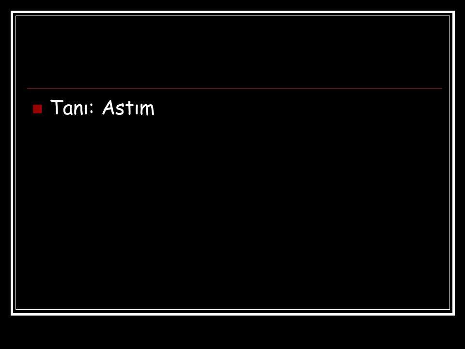 Tanı: Astım