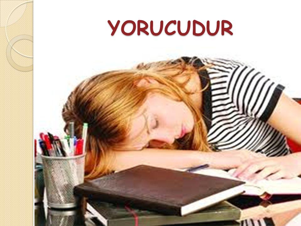 YORUCUDUR
