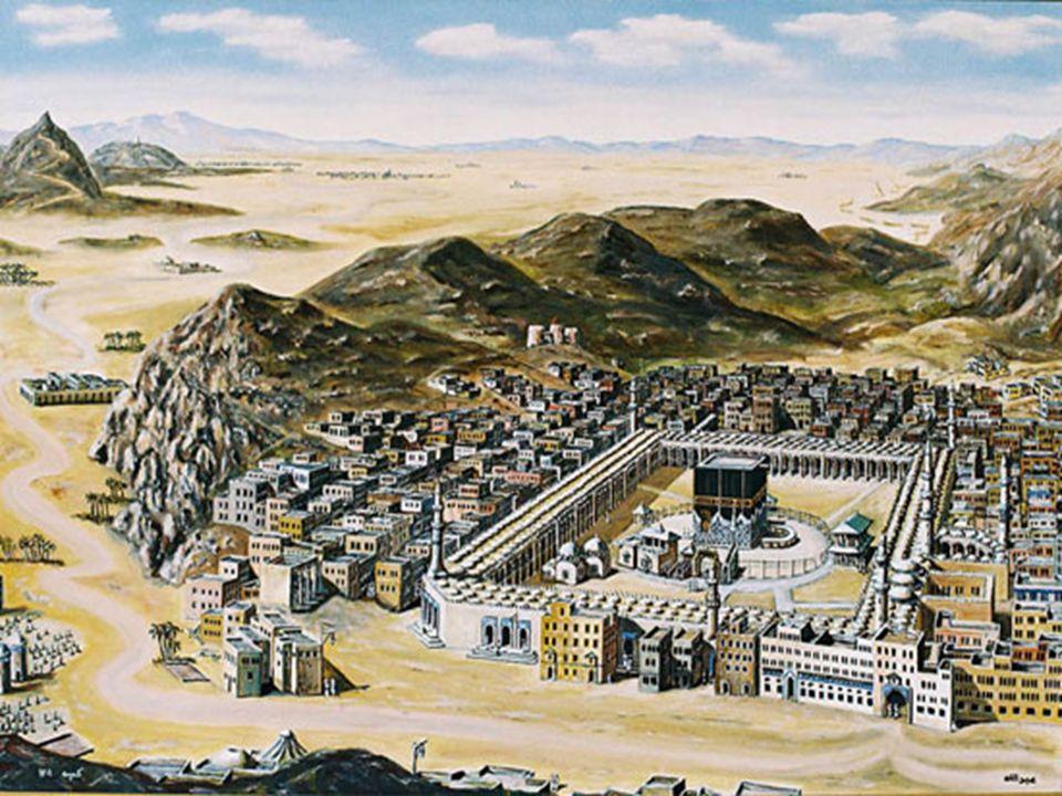 İslamiyetten önce dinî vazifeler Kâbe'nin içinde eda edilirken sonradan bu küçük bina ziyaretçileri ve hacca gelenleri almaz olur.