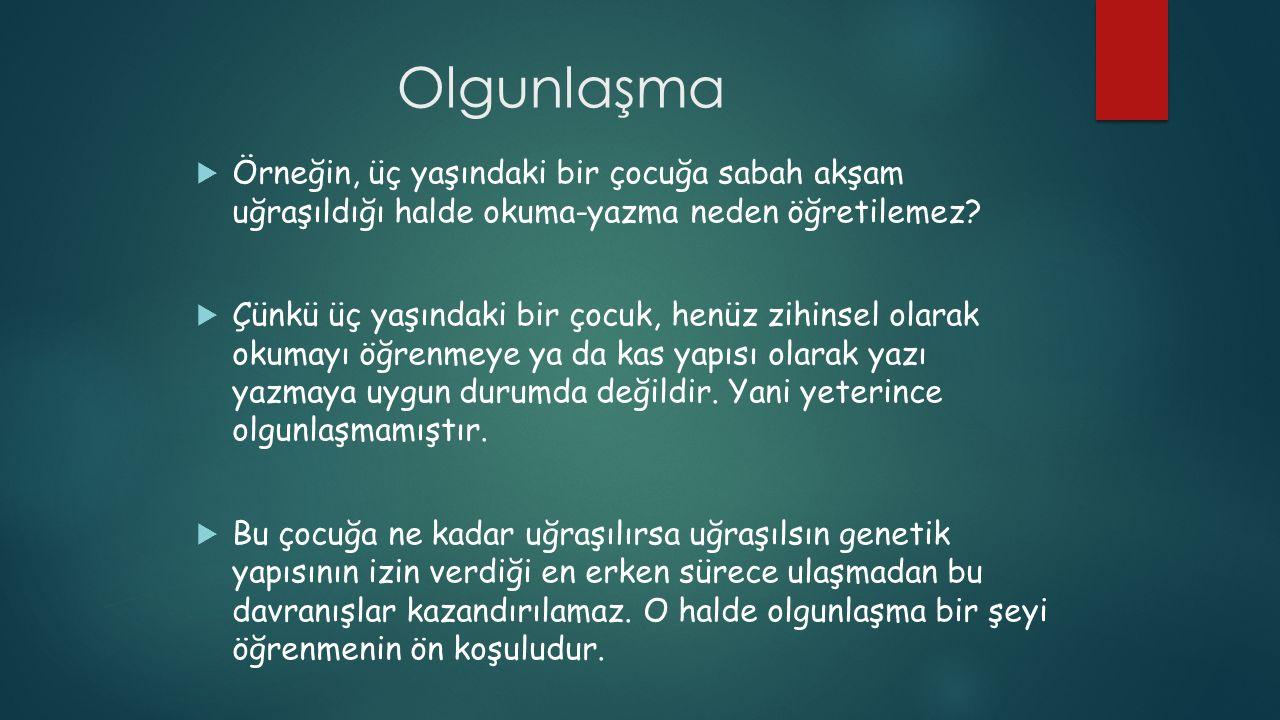 GELİŞİM VS.