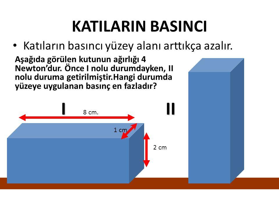 BASINÇ BİRİMLERİ Pascal Santimetre Civa Atmosfer Basınç Milimetre Civa 100000 Pascal (10 5 Pa) = 1 atm = 76 cm Hg 76 cm Hg =760 mm Hg