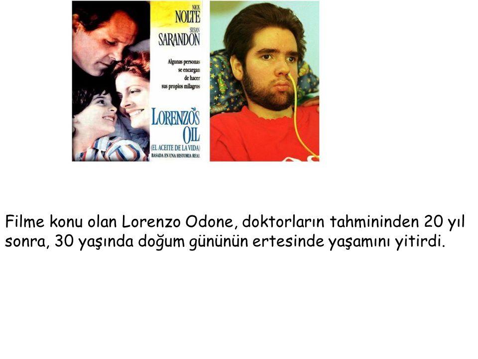 Filme konu olan Lorenzo Odone, doktorların tahmininden 20 yıl sonra, 30 yaşında doğum gününün ertesinde yaşamını yitirdi.