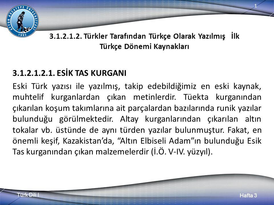 Türk Dili I Hafta 3 1 3.1.2.1.2.