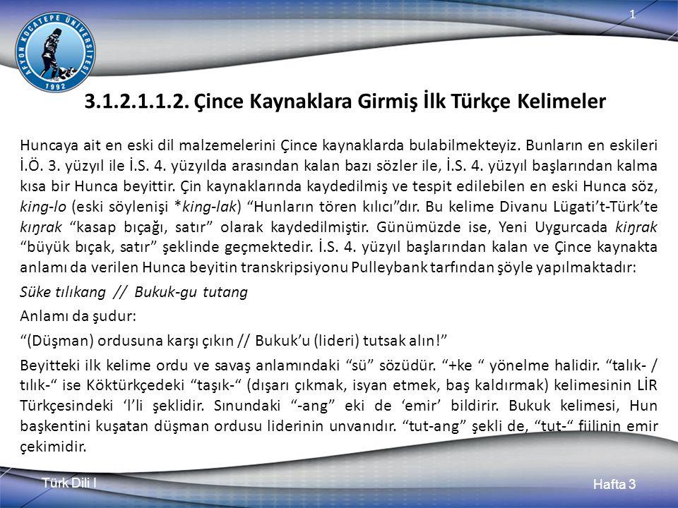 Türk Dili I Hafta 3 1 3.1.2.1.1.2.