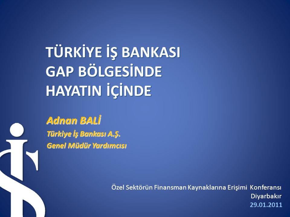 Adnan BALİ Türkiye İş Bankası A.Ş.