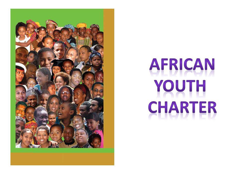 Afrika Gençlik Bildirisi 2006 Yılında kabul edilerek tüm Afrika ülkelerinin onayına sunulmuştır 2007 yılında ülkeler barış armağanı olarak çeşitli projeler hazırladılar.