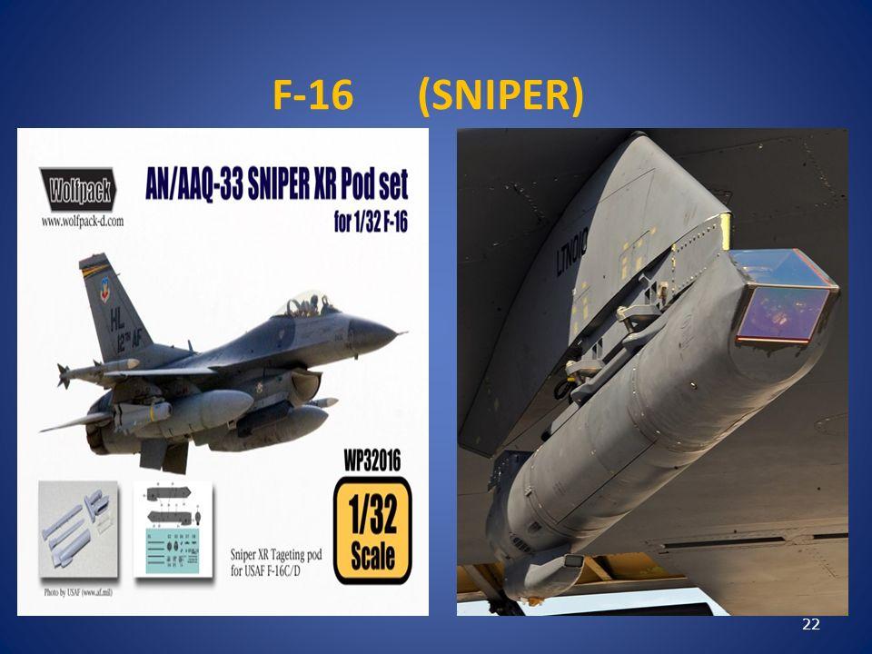 F-16 (SNIPER) 22