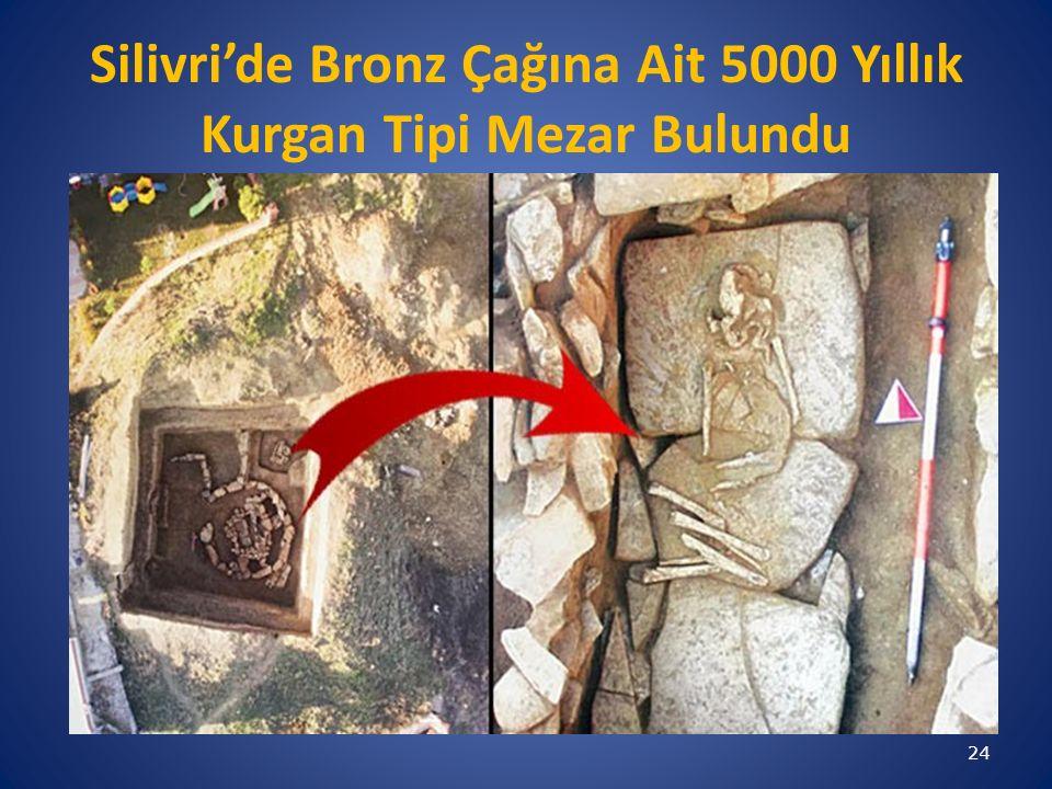Silivri'de Bronz Çağına Ait 5000 Yıllık Kurgan Tipi Mezar Bulundu 24