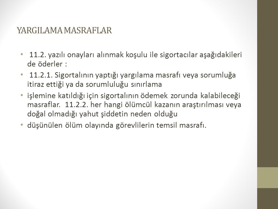 YARGILAMA MASRAFLAR 11.2.