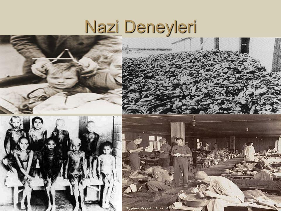 Nazi Deneyleri