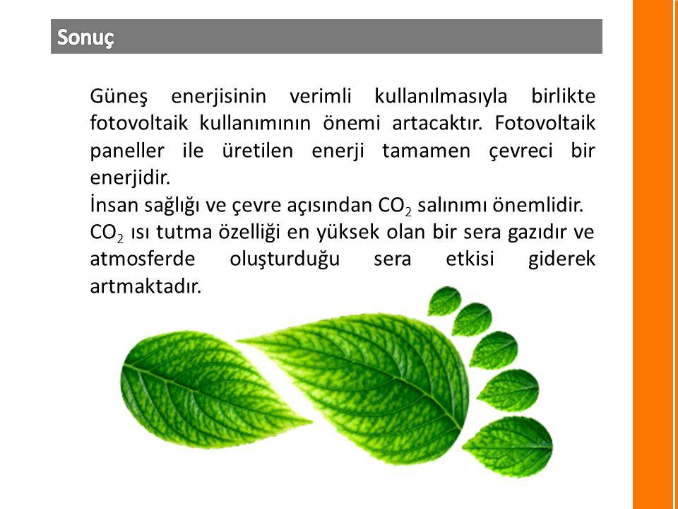 Güneş enerjisinin verimli kullanılmasıyla birlikte fotovoltaik kullanımının önemi artacaktır.