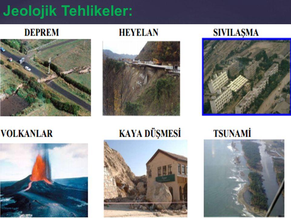 Jeolojik Tehlikeler: