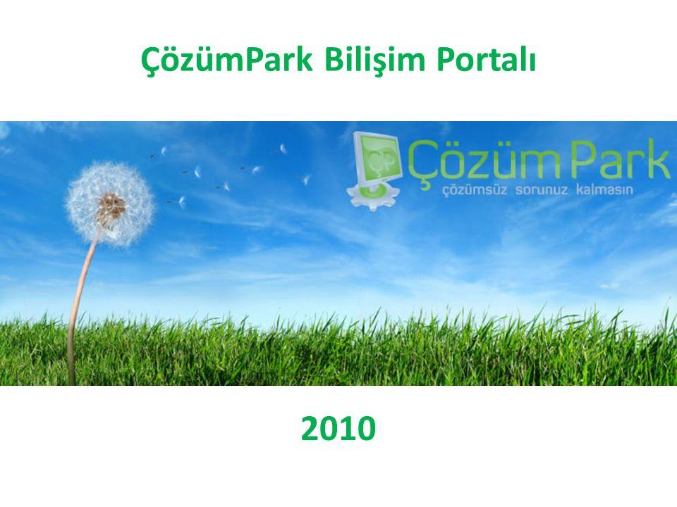 ÇözümPark Bilişim Portalı 2010