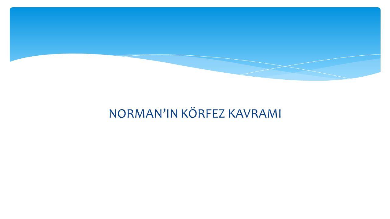 NORMAN'IN KÖRFEZ KAVRAMI