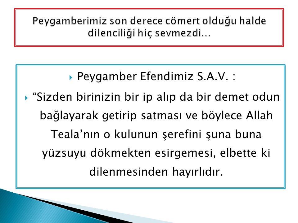  Peygamber Efendimiz S.A.V.
