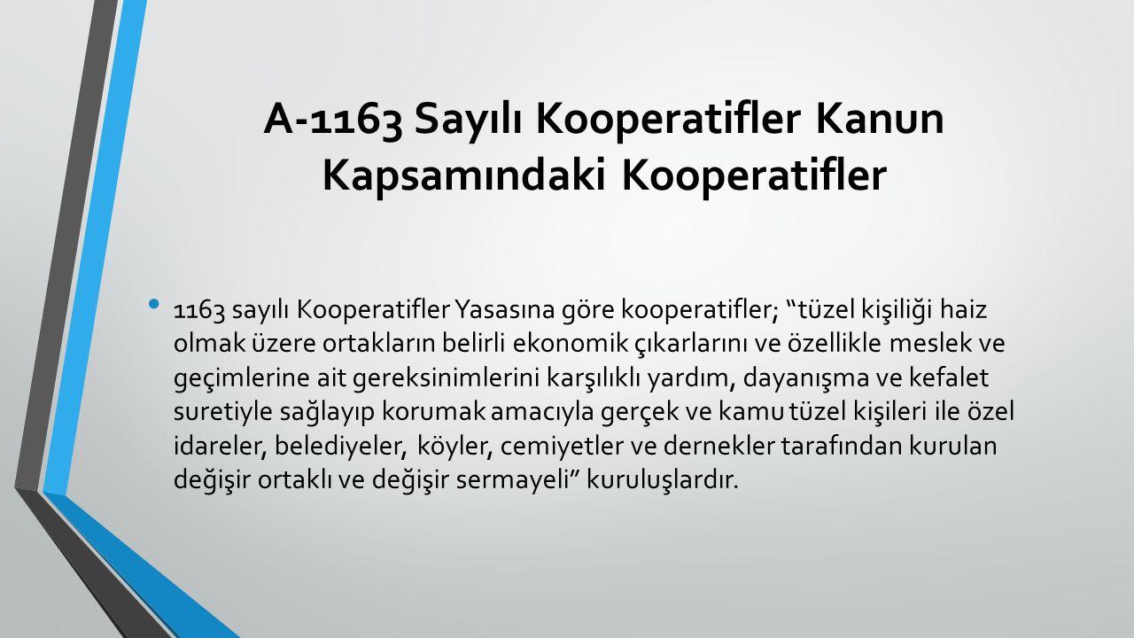 Türkiye'de tarımsal örgütlenmeye yönelik mevzuat karmaşık ve dağınık bir yapıya sahiptir.