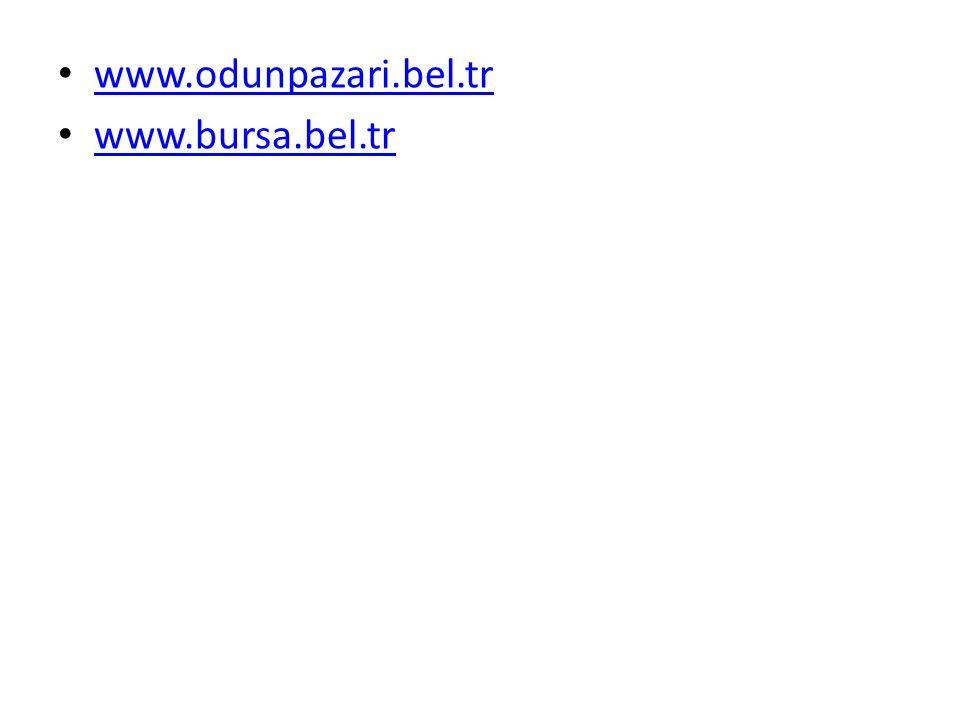 www.odunpazari.bel.tr www.bursa.bel.tr