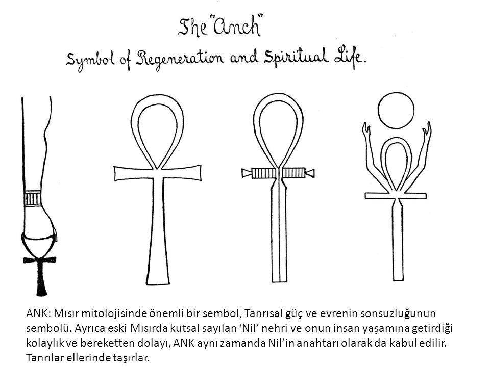Asalar;1-2.Tcham veya User.Genellikle kutsal erkek figürlerinin sol ellerinde taşıdığı asadır.