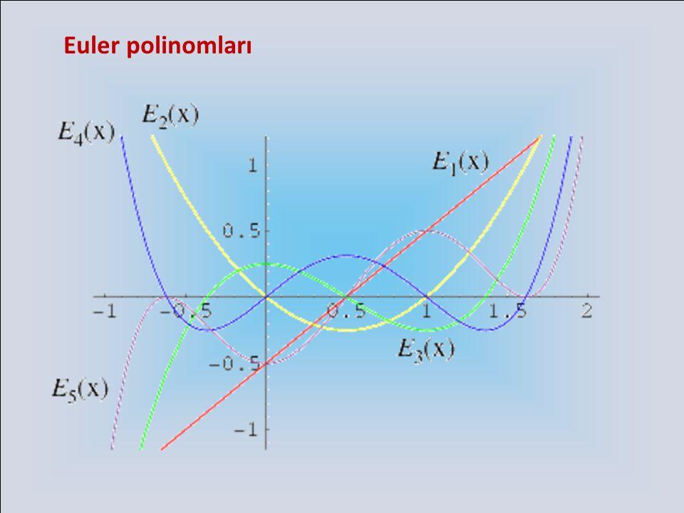 Euler polinomları