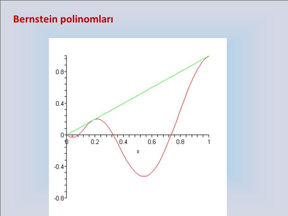 Bernstein polinomları