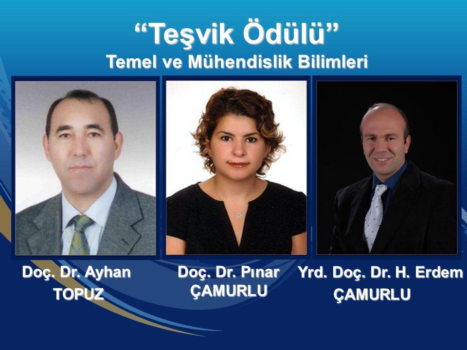 Doç. Dr. Pınar ÇAMURLU Doç. Dr. Pınar ÇAMURLU Doç.