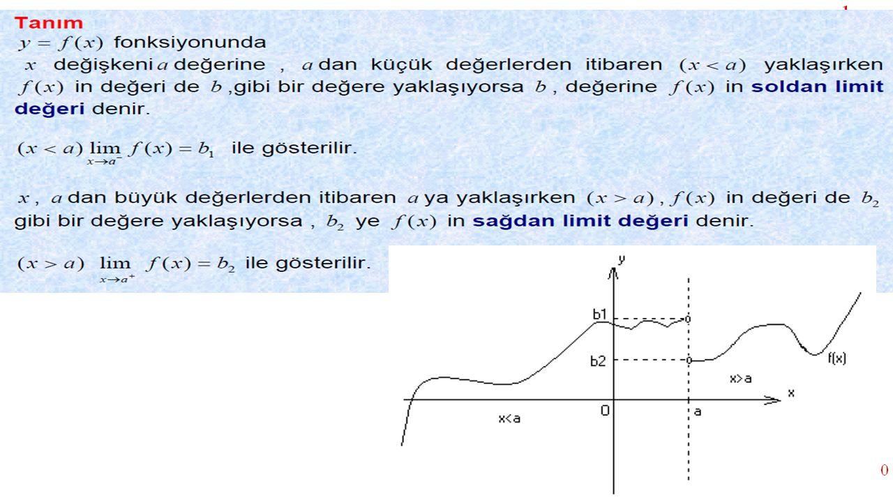 calculate one sided limits 7 5 x =2 de limit yoktur
