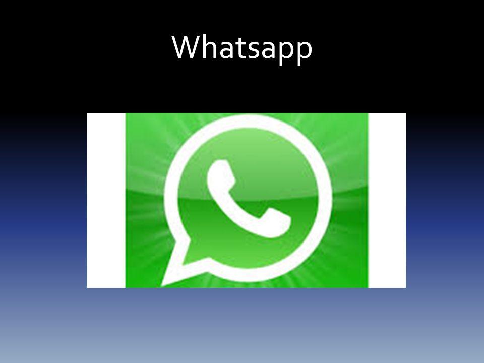 Tarihçesi ve Kullanım Amacı: Whatsapp akıllı telefonlar için geliştirilen, platformlararası çalışma özelliğine sahip bir mesajlasma ve arama uygulamasıdır.