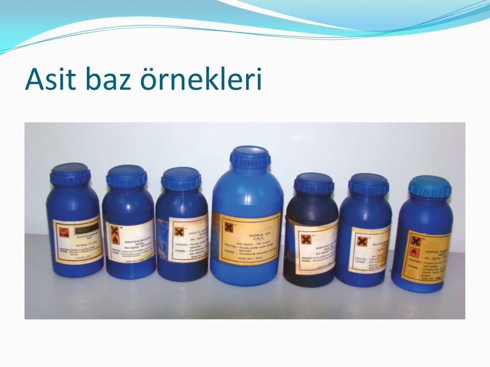 Sodyum hidroksit : Beyaz renkte ve nem çekici Suda kolay çözünen Yumuşak,sabun hissi veren Deterjan,sabun,kağıt,boya,yapay ipek