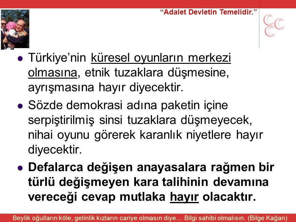 """""""Adalet Devletin Temelidir."""" Beylik oğulların köle, gelinlik kızların cariye olmasın diye… Bilgi sahibi olmalısın. (Bilge Kağan) Türkiye'nin küresel o"""