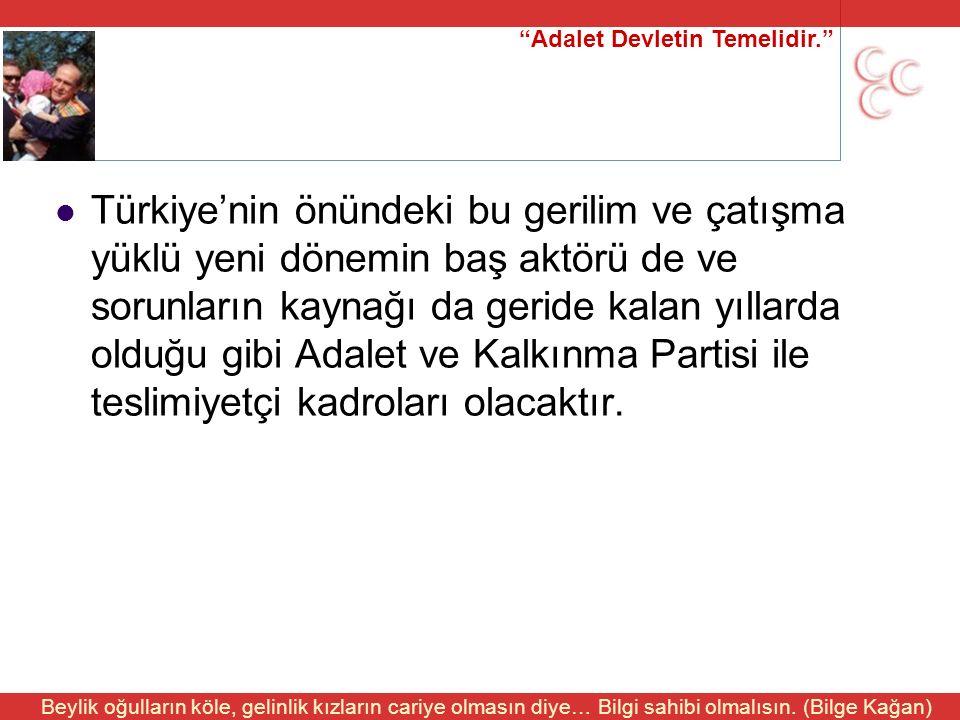 """""""Adalet Devletin Temelidir."""" Beylik oğulların köle, gelinlik kızların cariye olmasın diye… Bilgi sahibi olmalısın. (Bilge Kağan) Türkiye'nin önündeki"""