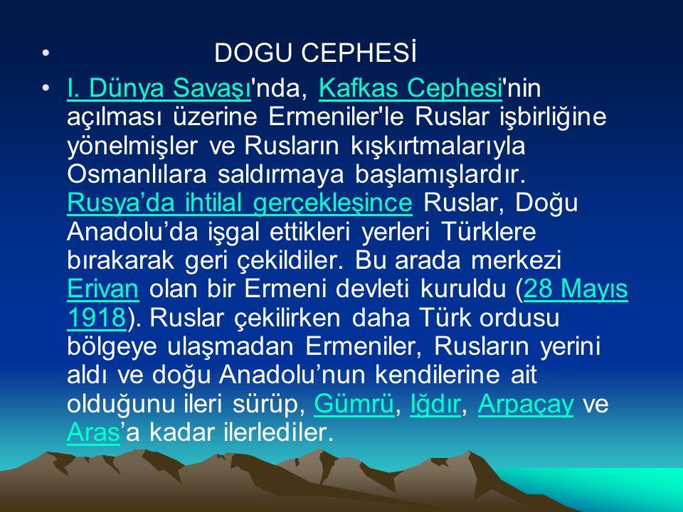 Böylece Türk azim ve direnme gücü yok edilmiş olacaktı.