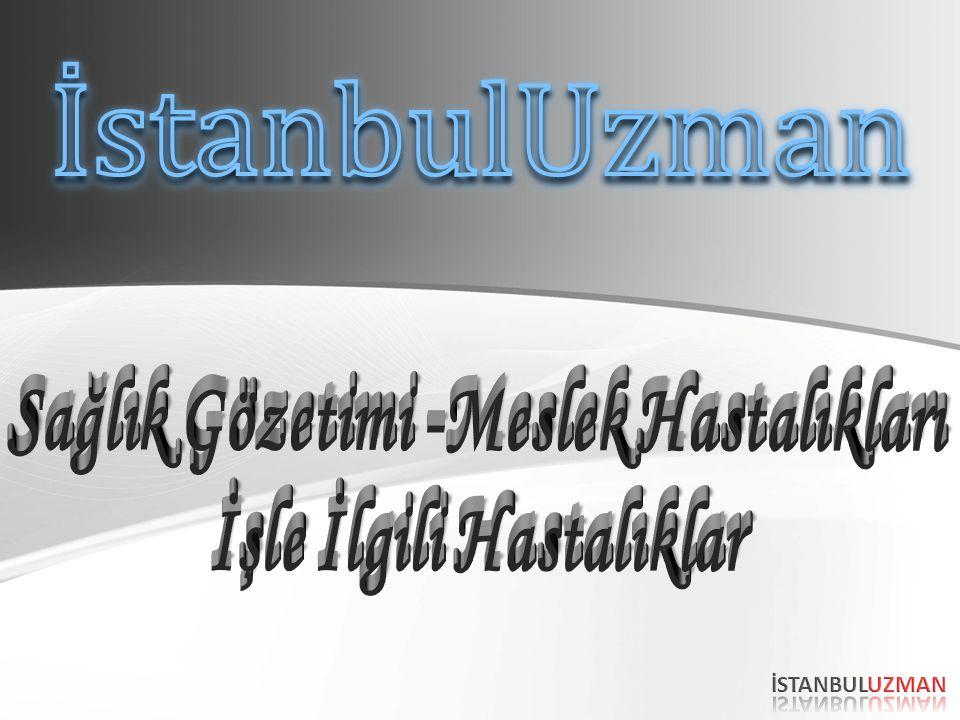 Konu; Türkiye ve Dünya'da İSG 64.