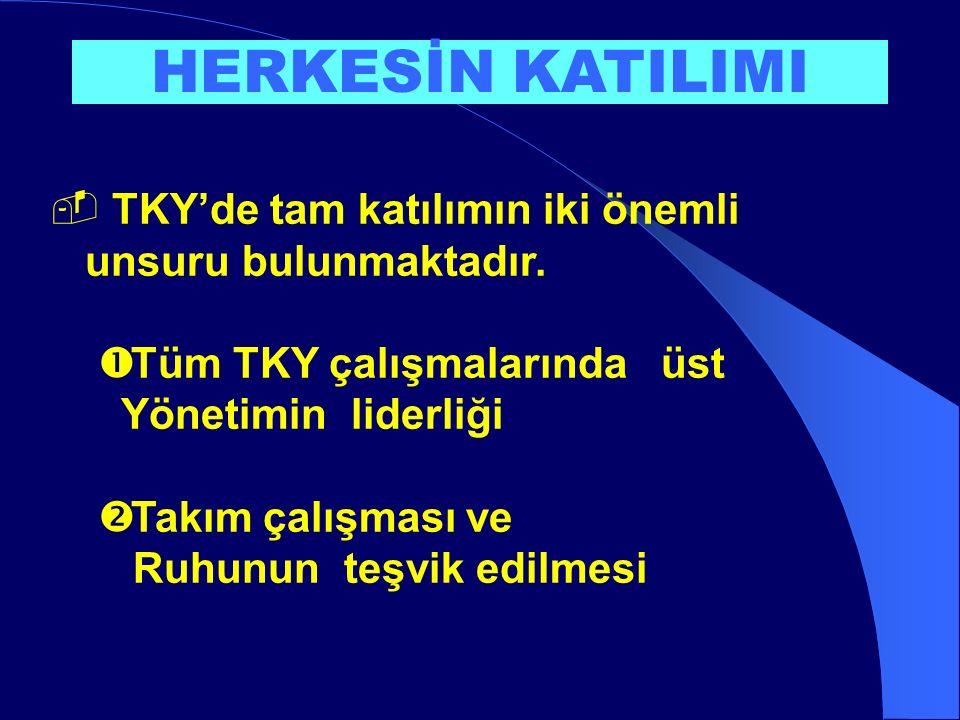  TKY'de tam katılımın iki önemli unsuru bulunmaktadır.
