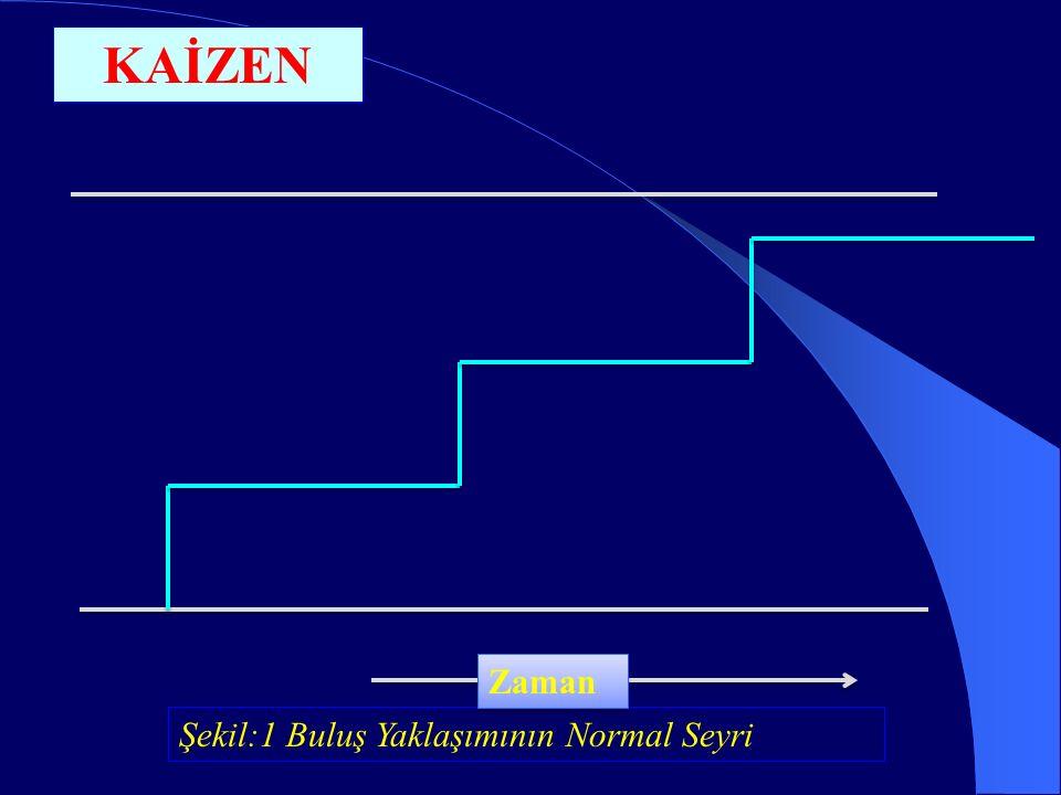 Şekil:1 Buluş Yaklaşımının Normal Seyri Zaman KAİZEN