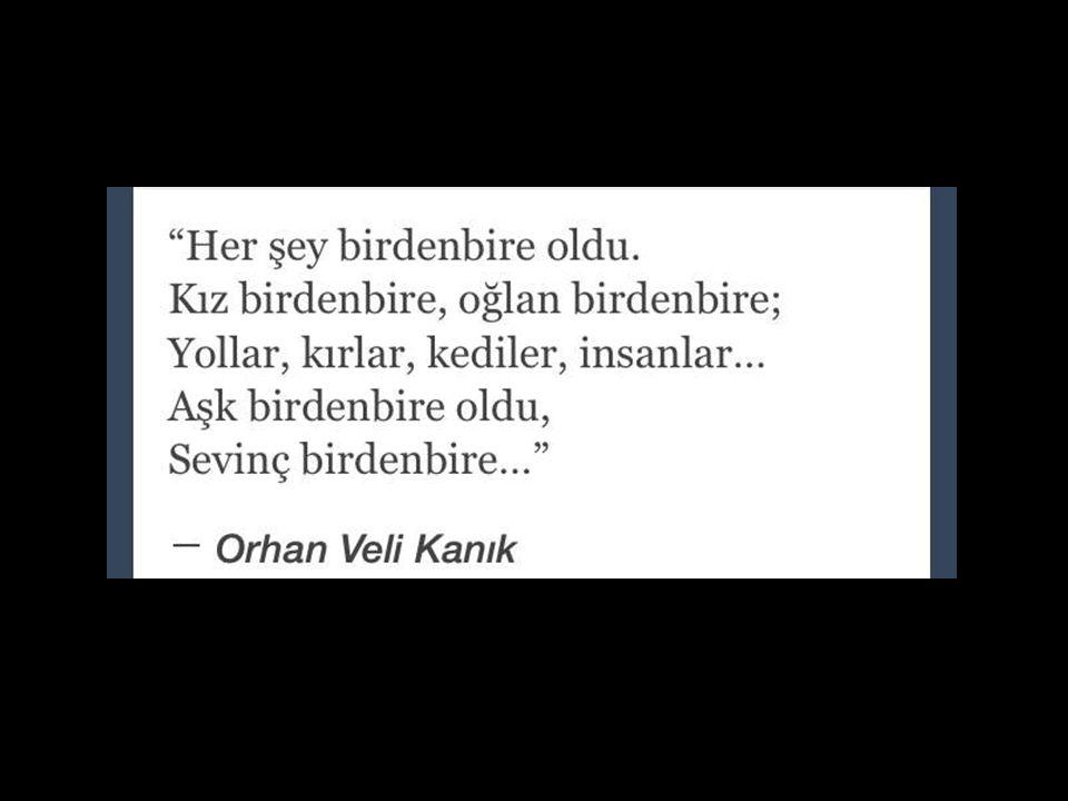 Orhan Veli konuşuyor...